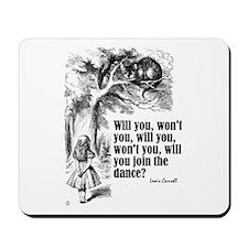 "Carroll ""Will You"" Mousepad"