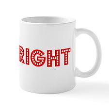 Retro Shipwright (Red) Mug