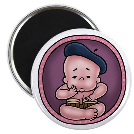 """Womb-Beat 2.25"""" Magnet (100 pack)"""