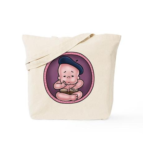 Womb-Beat Tote Bag