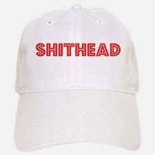 Retro Shithead (Red) Baseball Baseball Cap
