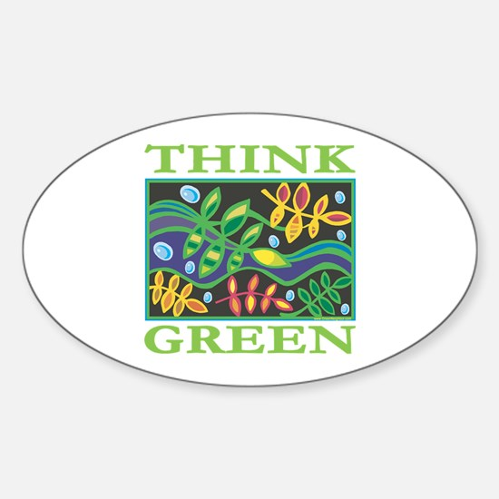 Environmental Oval Decal