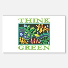 Environmental Rectangle Sticker 10 pk)