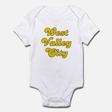 Retro West Valley .. (Gold) Infant Bodysuit