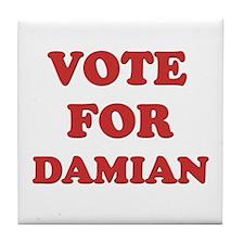 Vote for DAMIAN Tile Coaster