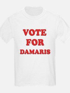 Vote for DAMARIS T-Shirt
