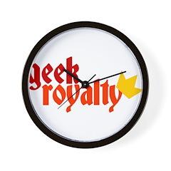 Geek Royalty Wall Clock