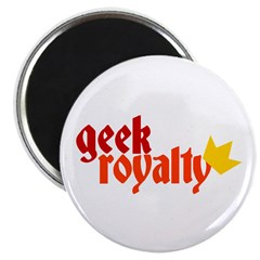 Geek Royalty Magnet