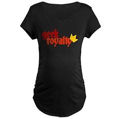 Geek Royalty Maternity Dark T-Shirt