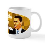 My middle name is Hussein too coffee mug
