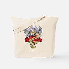 CF Dagger Tattoo Tote Bag