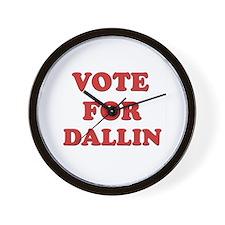 Vote for DALLIN Wall Clock
