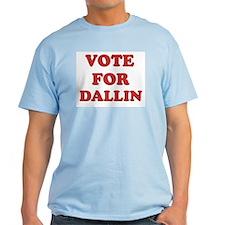 Vote for DALLIN T-Shirt