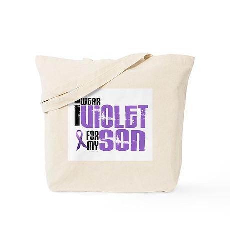 I Wear Violet For My Son 6 Tote Bag