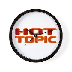 Hot Topic Wall Clock
