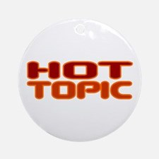 Hot Topic Ornament (Round)