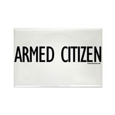 Armed Citizen Rectangle Magnet