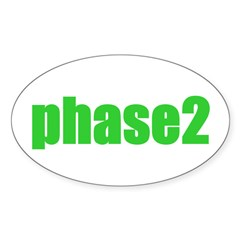 Phase 2 Oval Decal