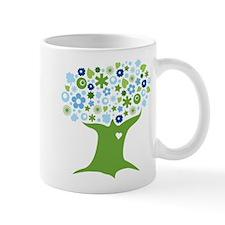 Go Green in Blue Mug