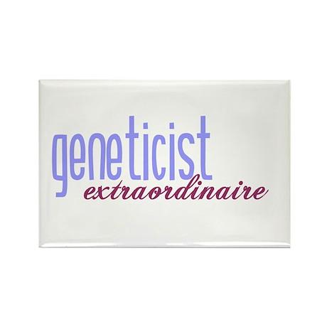 Geneticist Extraordinaire Rectangle Magnet