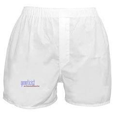 Geneticist Extraordinaire Boxer Shorts