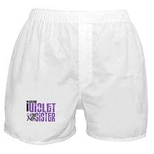 I Wear Violet For My Sister 6 Boxer Shorts