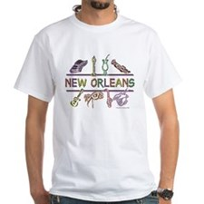 New Orleans Bead Design Shirt