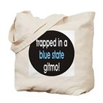 blue state gitmo Tote Bag