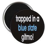 blue state gitmo Magnet