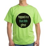 blue state gitmo Green T-Shirt