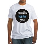 blue state gitmo Fitted T-Shirt