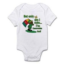 Cute and Cameroonian Infant Bodysuit