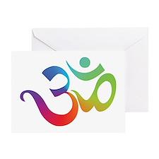 Om Greeting Card