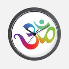 Om Wall Clock