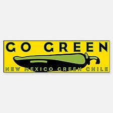 Go Green Bumper Bumper Bumper Sticker