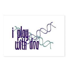 I Play with DNA Postcards (Package of 8)