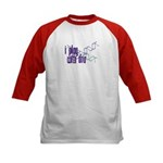 I Play with DNA Kids Baseball Jersey