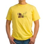 I Play with DNA Yellow T-Shirt