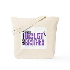 I Wear Violet For My Brother 6 Tote Bag