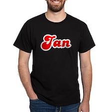 Retro Jan (Red) T-Shirt