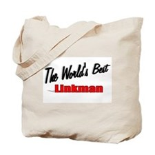 """The World's Best Linkman"" Tote Bag"
