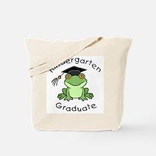 Frog Kindergarten Graduate Tote Bag