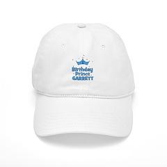 1st Birthday Prince Garrett! Baseball Cap