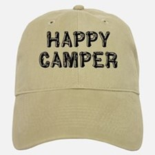 Happy Camper Baseball Baseball Cap