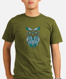 Blue dreamcatcher owl T-Shirt