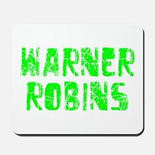 Warner Robins Faded (Green) Mousepad
