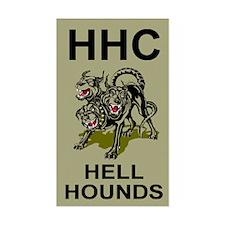 2-127th Infantry <BR>HHC Sticker 2