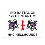 2-127th Infantry <BR>8 HHC Postcards