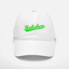 Retro Hoboken (Green) Baseball Baseball Cap