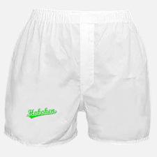 Retro Hoboken (Green) Boxer Shorts